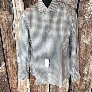 Isaia Shirts - NWT Isaia Men's Dress Shirt 15 1/2